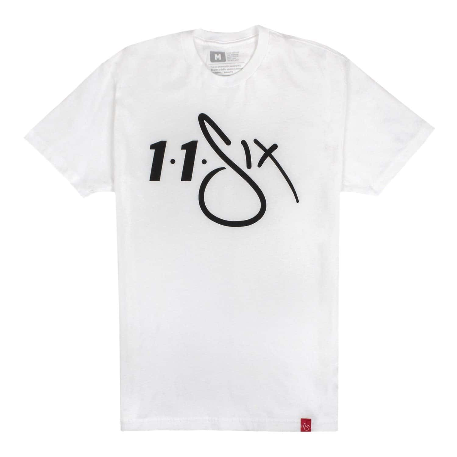 116 'Red Label' T-Shirt - White