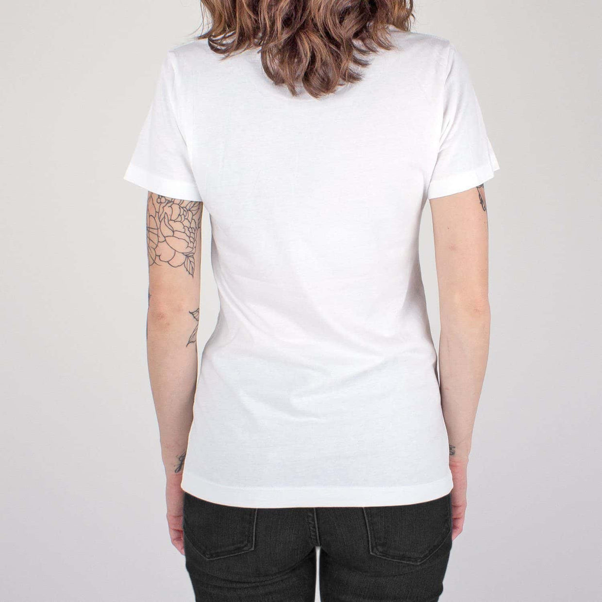 116 'Red Label' Women's T-Shirt - White