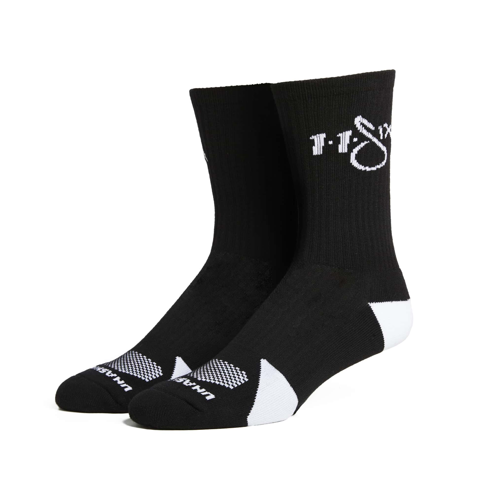 116 Athletics Socks - Black & White