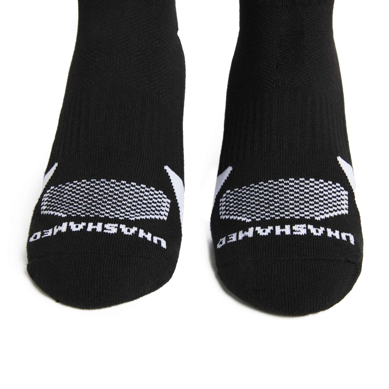 'Unashamed' Socks - Black & White