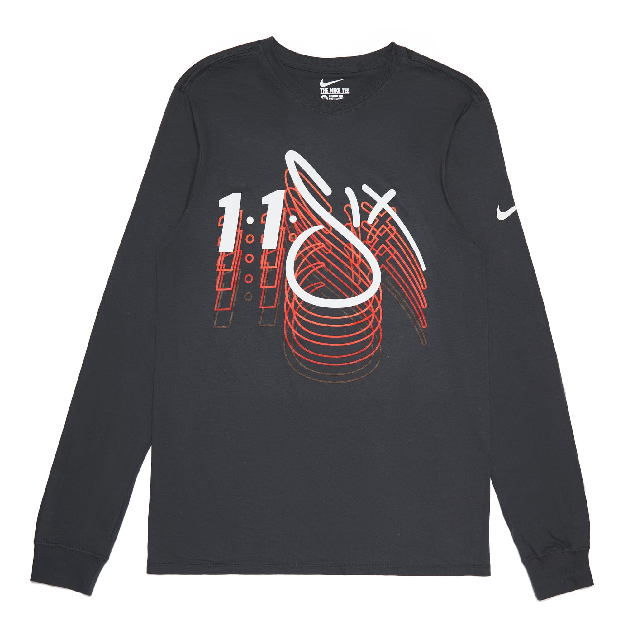Reach x Nike Core Long Sleeve Tee - Charcoal