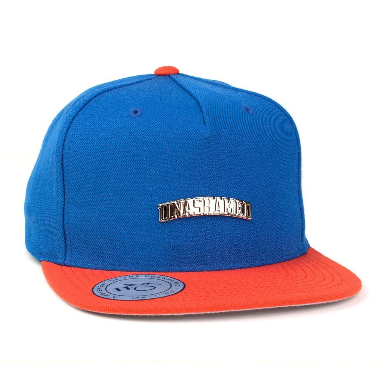 'Unashamed' Snapback - Royal & Orange