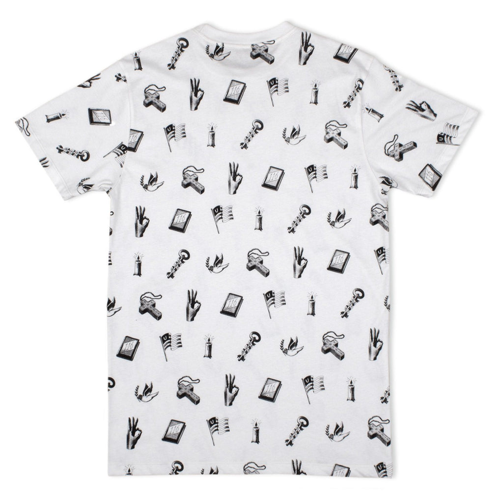116 x Marko Purac 'All Over Print' T-Shirt