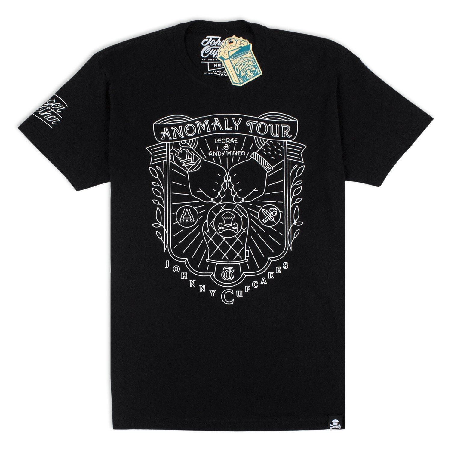 Reach Records Limited 'Johnny Cupcakes x Anomaly Tour' T-Shirt