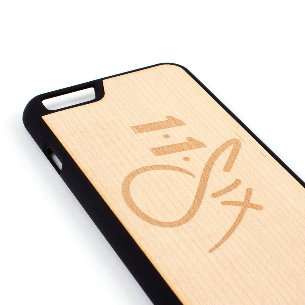 '116' Carved iPhone Case - Maple