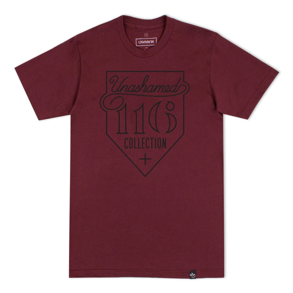 116 x UGMONK 'Collection' T-Shirt - Truffle