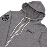 116 x UGMONK 'Collection' Custom Cut and Sew Zip Hoodie - Detail