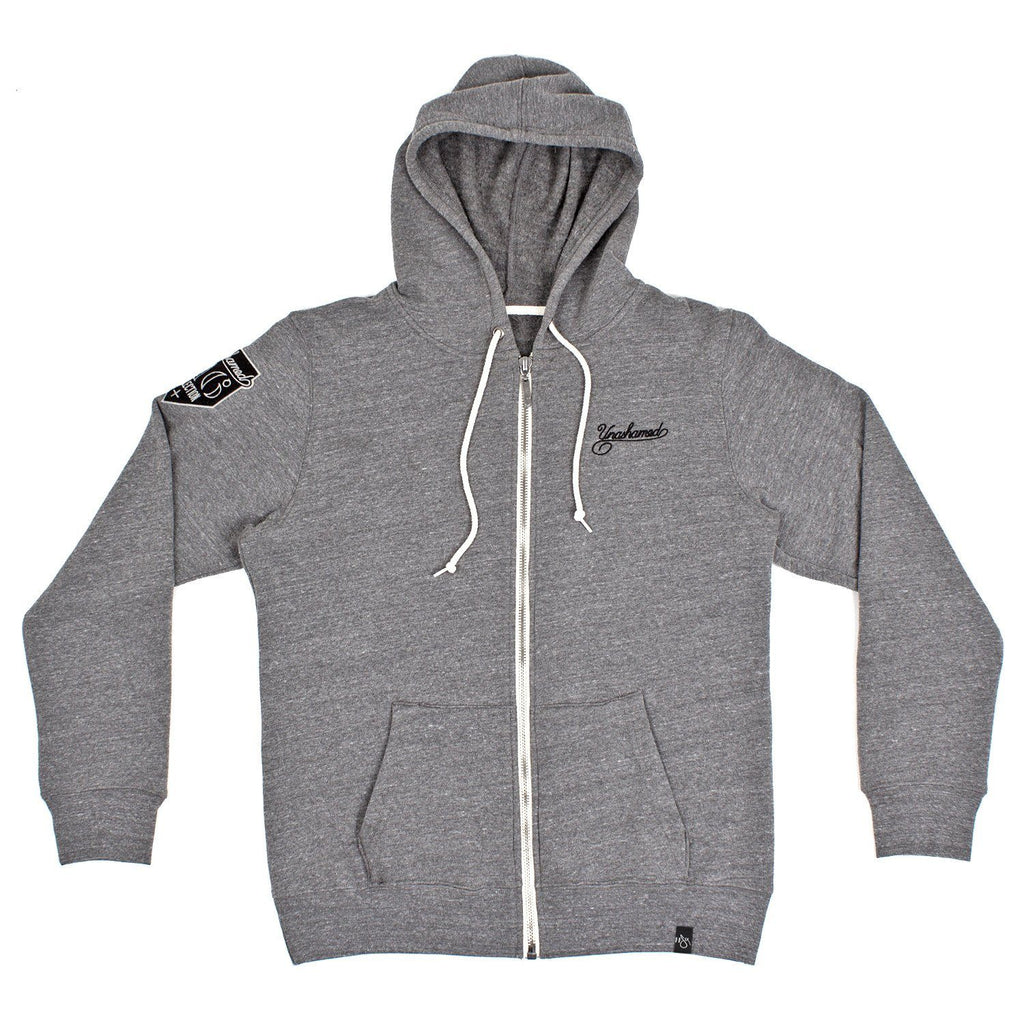 116 x UGMONK 'Collection' Custom Cut and Sew Zip Hoodie