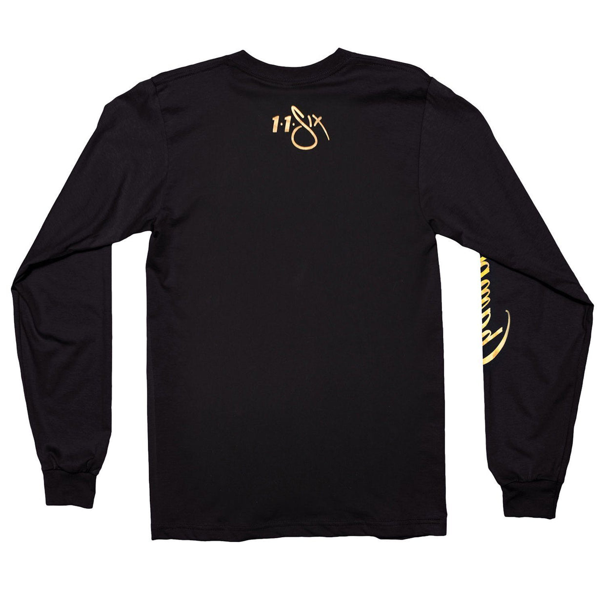 116 Gold Foil Champs Long Sleeve Tee