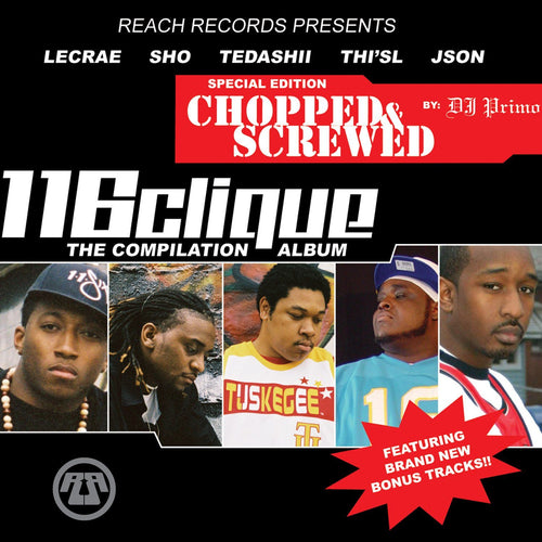 Reach Records 116 Compilation 'Chopped and Screwed'