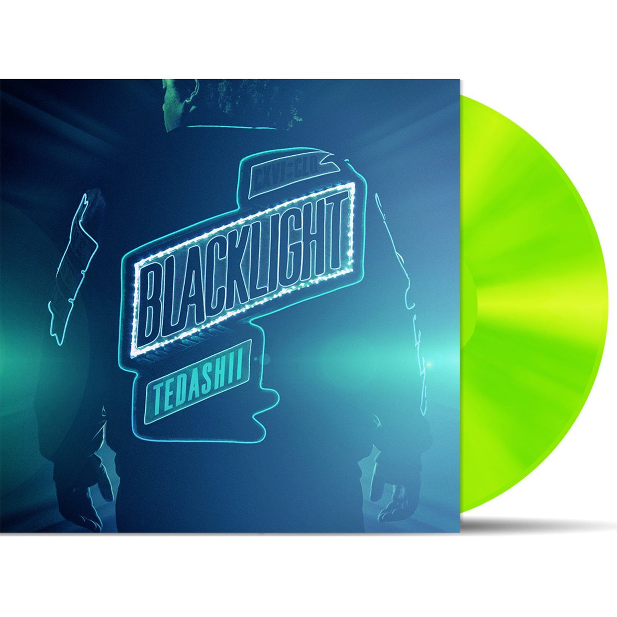 Reach Records Tedashii 'Blacklight' vinyl