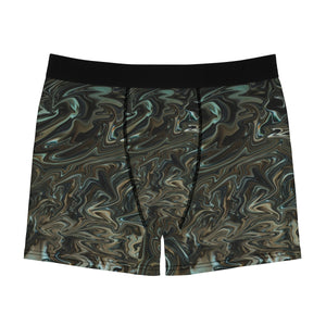 Liquid Green Men's Boxer Briefs