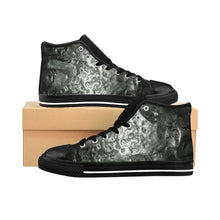 Load image into Gallery viewer, Ice Cube BW Women's High-top Sneakers
