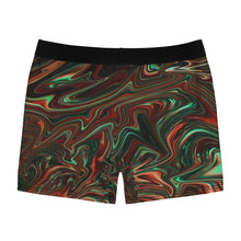 Load image into Gallery viewer, Liquid Red Men's Boxer Briefs