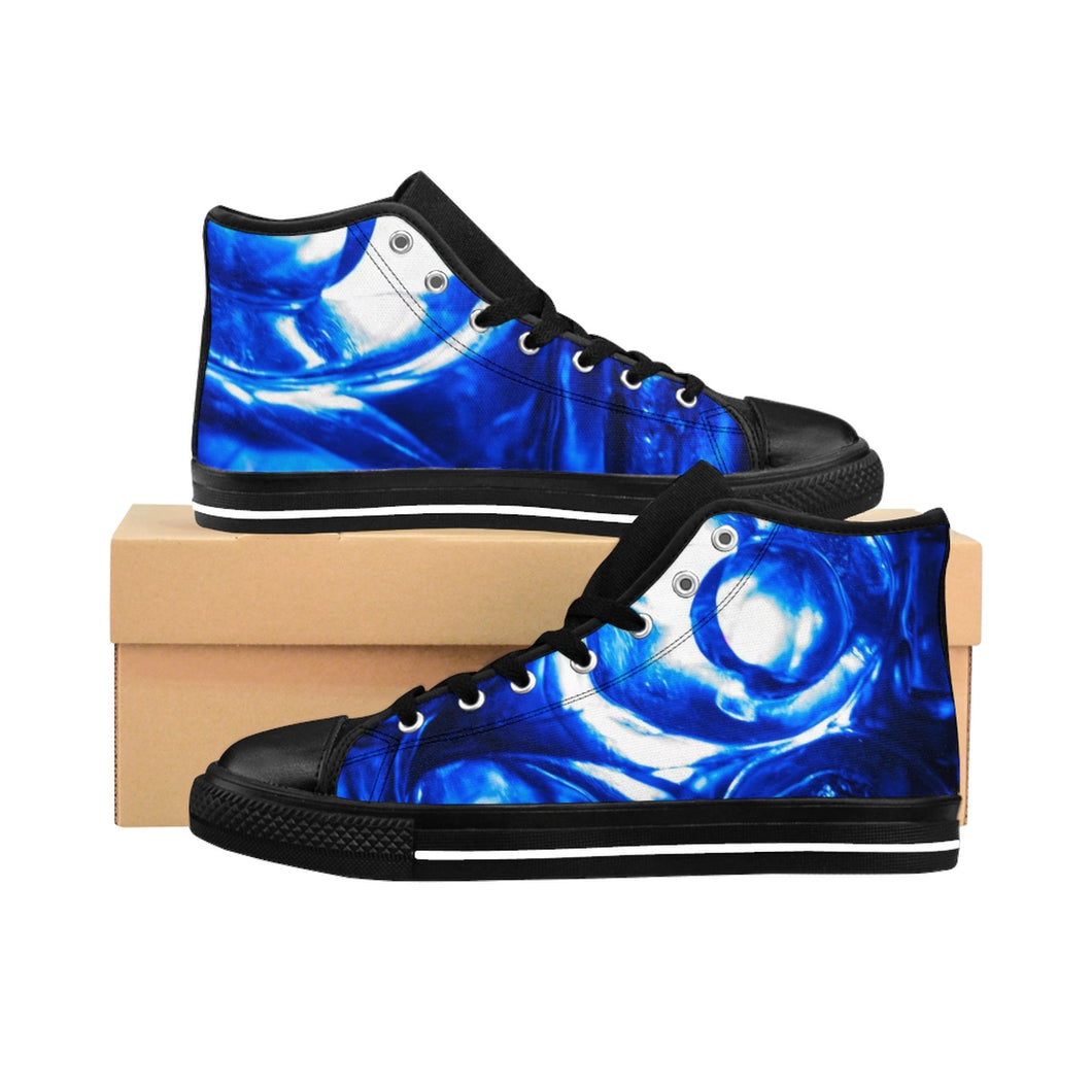 Liquid Ice Cubes Women's High-top Sneakers