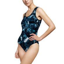 Load image into Gallery viewer, Fruitporn - Blueberry Women's Classic One-Piece Swimsuit