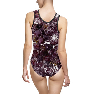 Fruitporn - Grapes  Women's Classic One-Piece Swimsuit