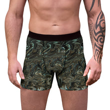 Load image into Gallery viewer, Liquid Green Men's Boxer Briefs