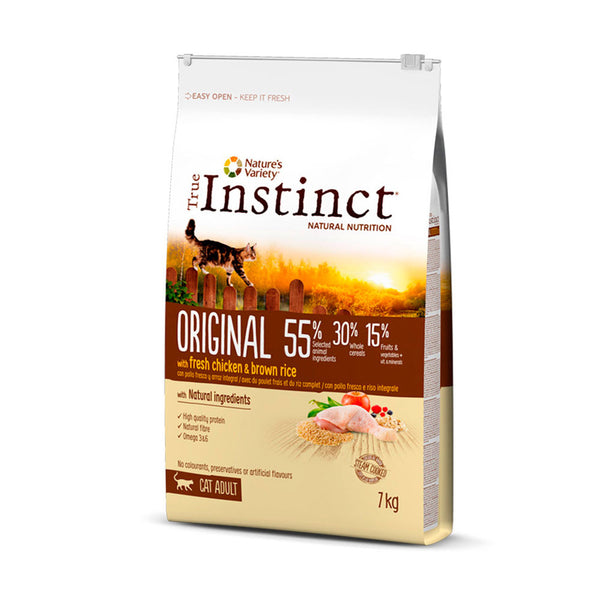 True INSTINCT ORIGINAL CON POLLO Y ARROZ INTEGRAL – ADULT