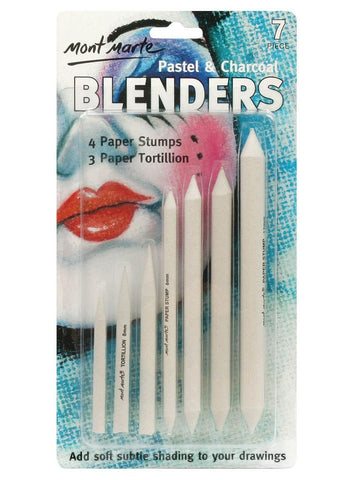 Pastel & Charcoal Blenders (7pc)