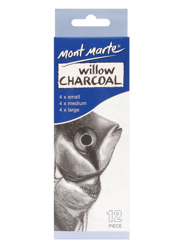 Willow Charcoal (12pc)