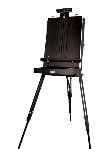 Black French Box Easel