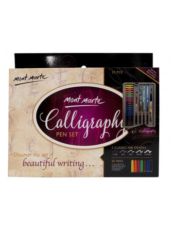 Calligraphy Set (33pc)