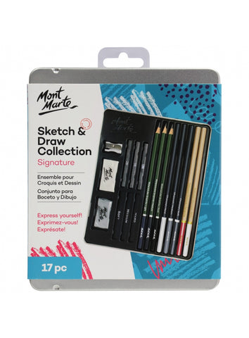 Signature Sketch and Draw Collection (17pc)