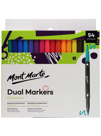 Dual Tip Markers (54pc)