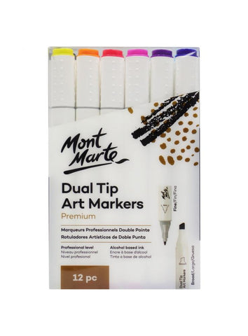 Dual Tip Art Markers (12pc)