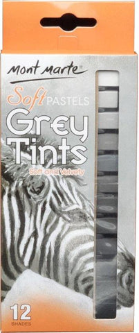 Soft Pastels Grey Tints (12 pc)