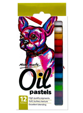 Oil Pastels (12pc)