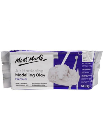 Air-hardening Modeling Clay - White Color