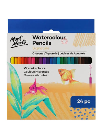 Signature Watercolor Pencils (24pc)