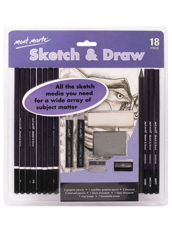 Sketch & Draw Set (18pc)