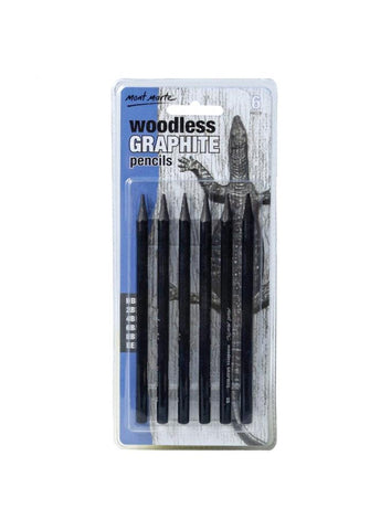Woodless Graphite Pencils (6pc)