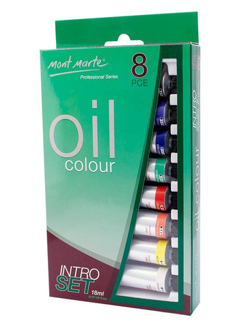 Oil Paint Intro Set - Pro Series (8pc)