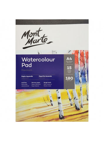 Watercolor Pad 50lb - A4 (8.3 x 11.7 in.)