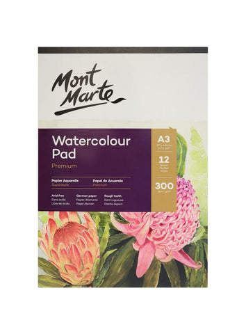 Watercolor Pad 80lb - A3 (11.7 x 16.5 in.)