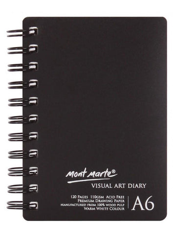 Visual Art Diary - A6 (4.1 x 5.8 in.)