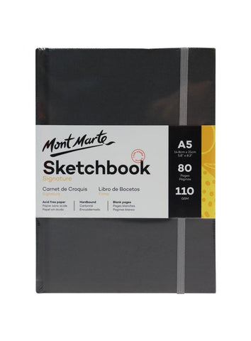 Hardbound Sketchbook - A5 (5.8 x 8.3 in.)