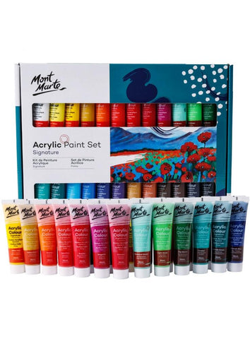 Signature Acrylic Paint Set (24pc)
