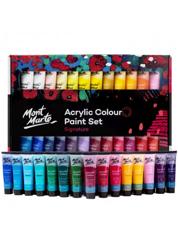 Signature Acrylic Paint Set (48pc)