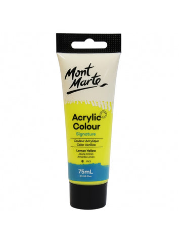 Studio Acrylic - Lemon Yellow (75mL)