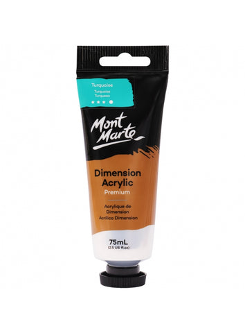 Dimension Acrylic - Turquoise (75ml)
