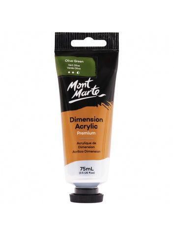 Dimension Acrylic - Olive Green (75ml)