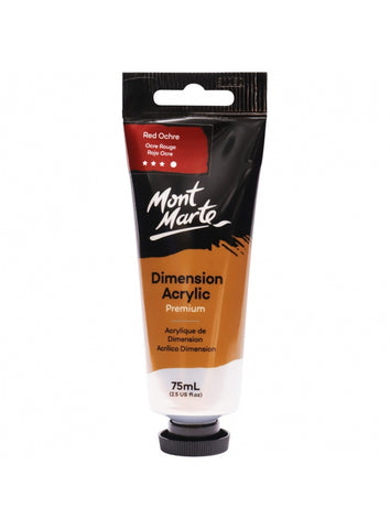 Dimension Acrylic - Red Ochre (75ml)