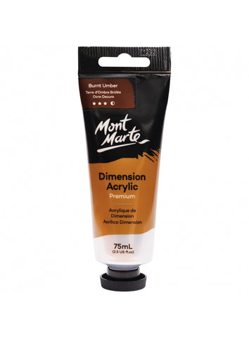 Dimension Acrylic - Burnt Umber (75ml)