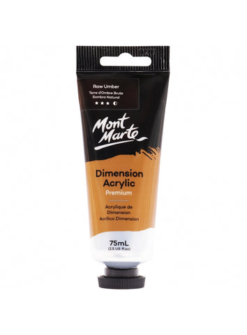 Dimension Acrylic - Raw Umber (75ml)