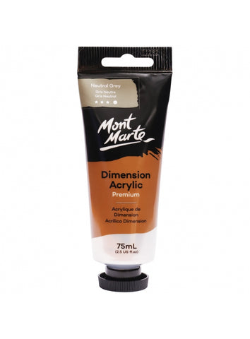 Dimension Acrylic - Neutral Grey (75ml)